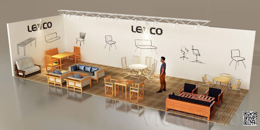 Booth Triển Lãm Levico – VIFA EXPO 2015