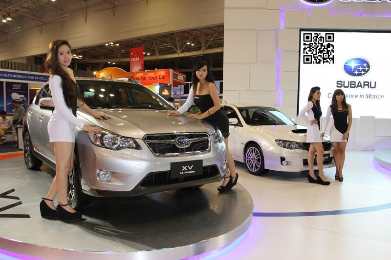 Người đẹp triển lãm Sài Gòn Autotech - 1 - VietArt