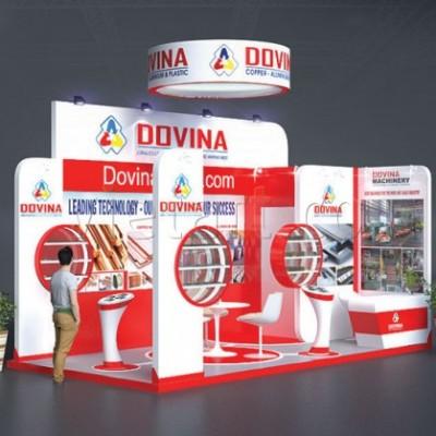 Gian hàng hội chợ triển lãm Dovina