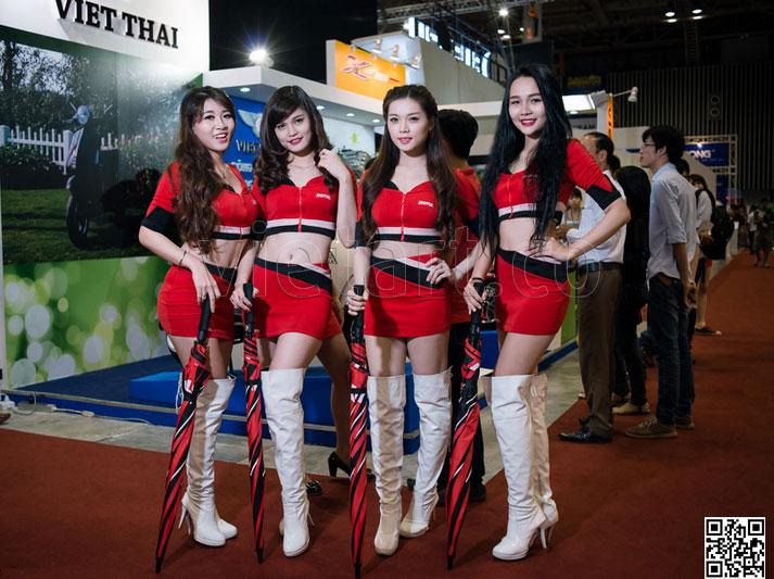 Người đẹp triển lãm Sài Gòn Autotech - 3 - VietArt