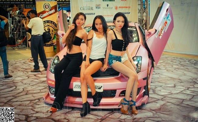 Người đẹp triển lãm Sài Gòn Autotech - 5 - VietArt