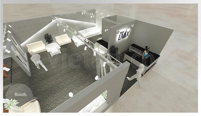 Hình ảnh gian hàng triển lãm Livax 2