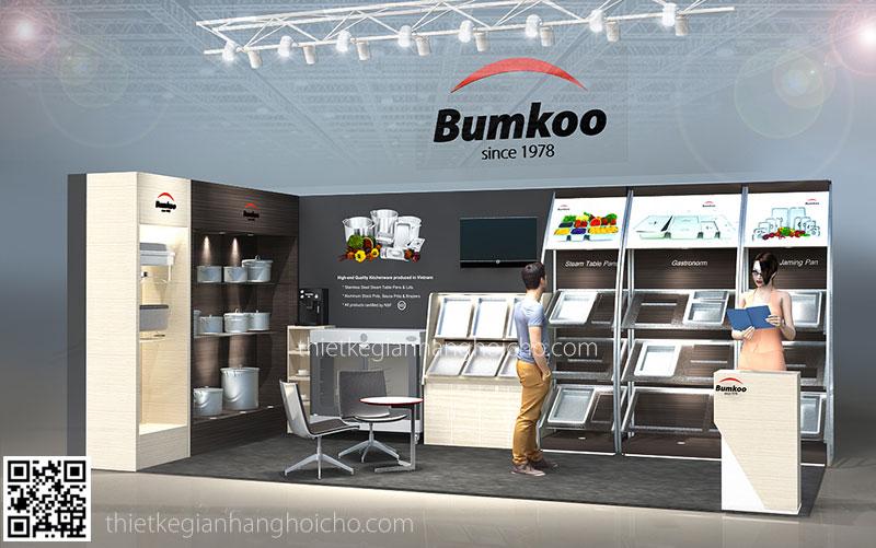 Thiết Kế Gian Hàng Triển Lãm BumKoo 2015