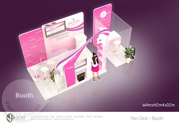 Booth Bán Hàng Panclinic
