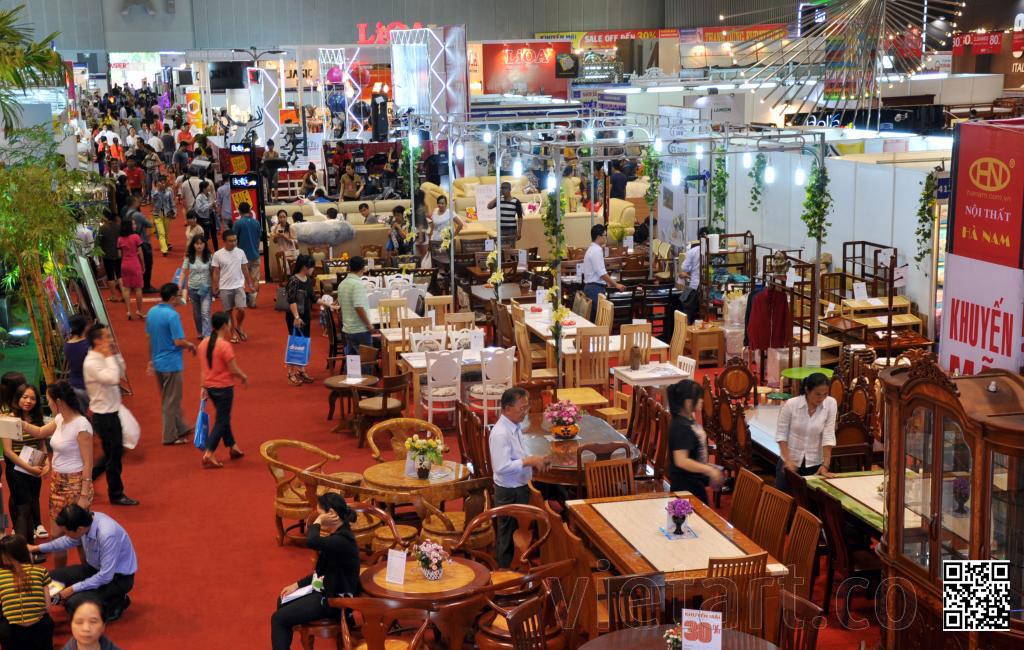 Toàn Cảnh Hội Chợ Đồ Gỗ VIFA 2015