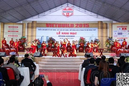 Cùng Đón Chào Hội chợ triễn lãm VietBuild 2015 tại TP.HCM