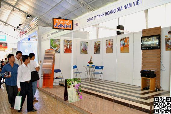 Cùng Đón Chào Hội chợ triễn lãm VietBuild 2015 tại TP.HCM - thiết kế gian hàng hội chợ
