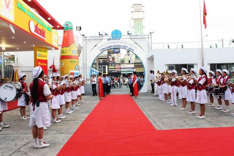 Hội chợ tôn vinh hàng Việt