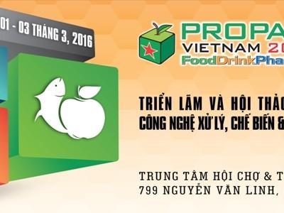 Triển lãm Propak Việt Nam 2016