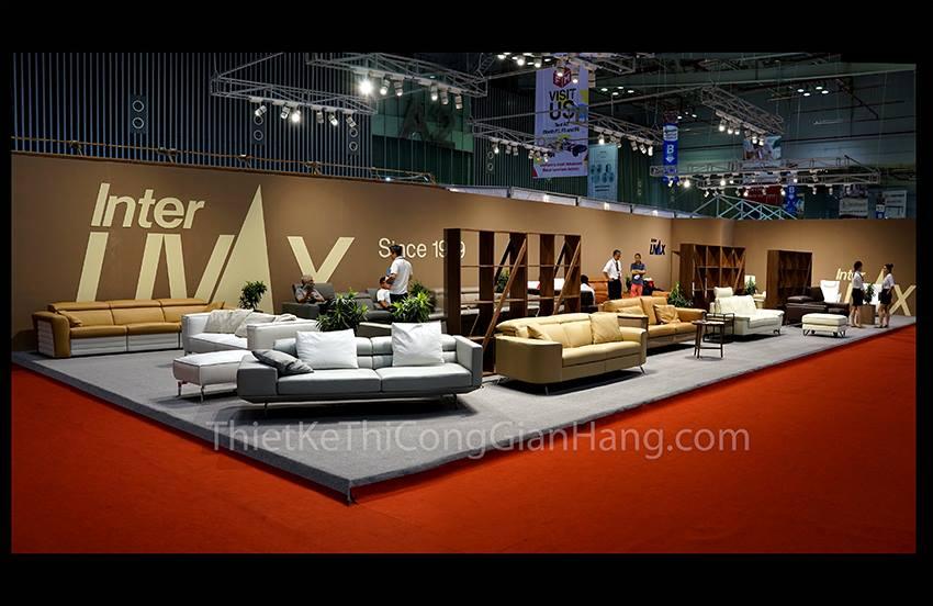 Mẫu thiết kế gian hàng hội chợ triển lãm – Viet Art