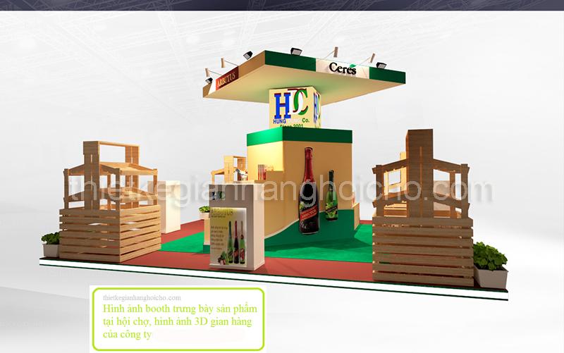 Booth gian hàng