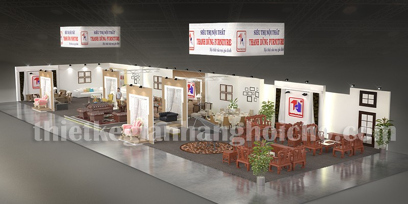 exhibition booth contractor in Vietnam