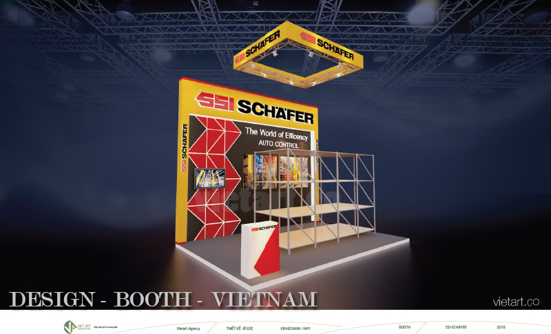 VIETART advertising DESIGN BOOTH VIETNAM