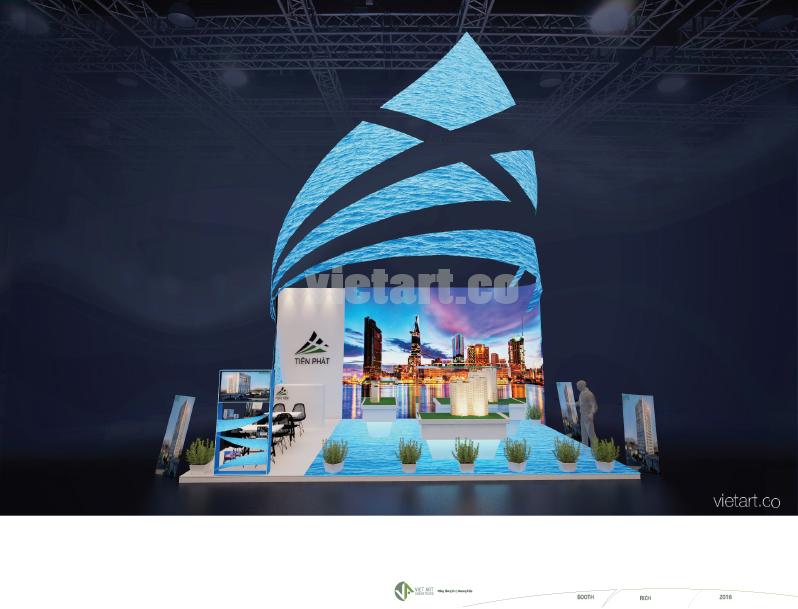 Viet Art: Design exhibition booth in VietNam