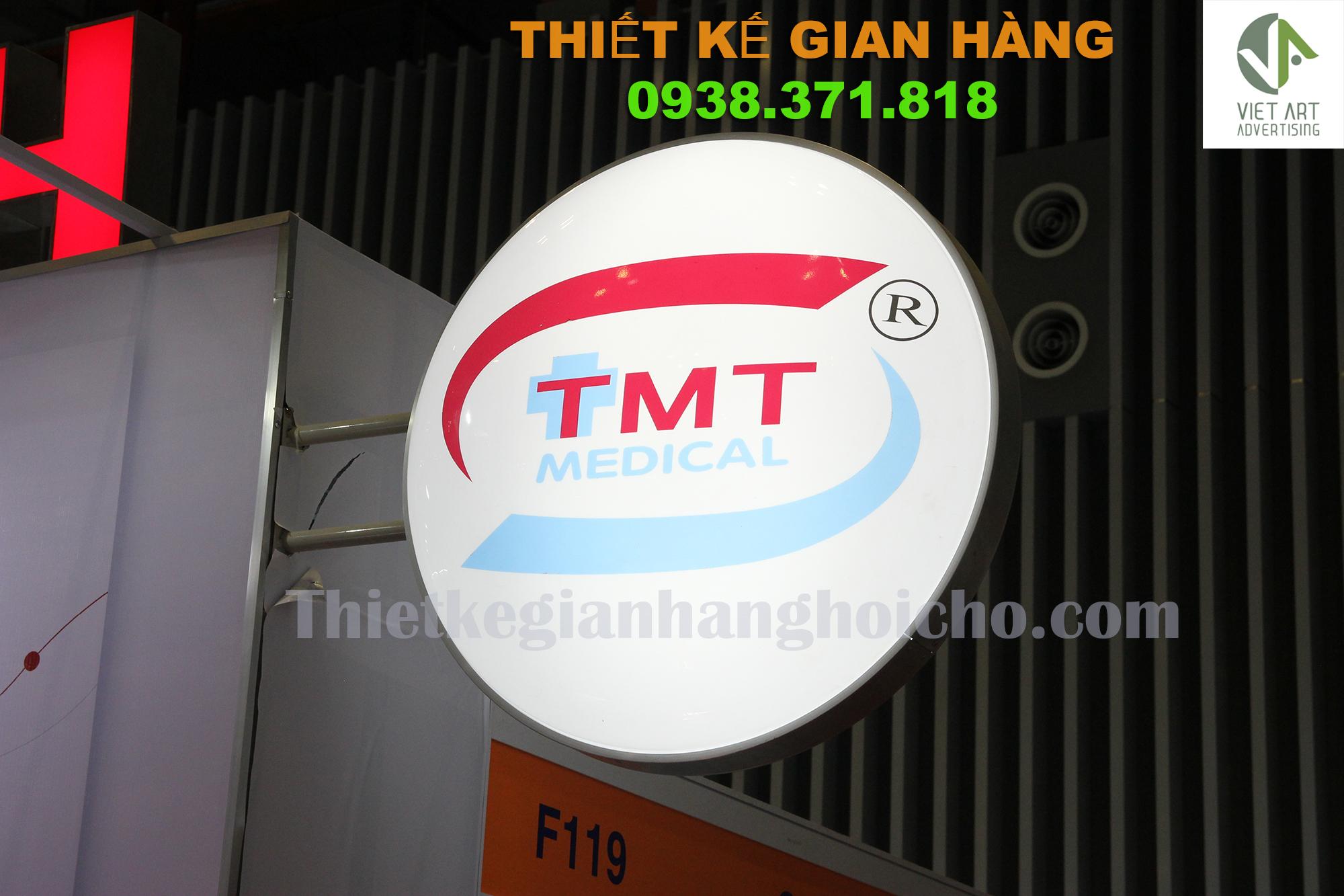Thiết kế Booth quảng cáo gian hàng TÂN MAI THÀNH