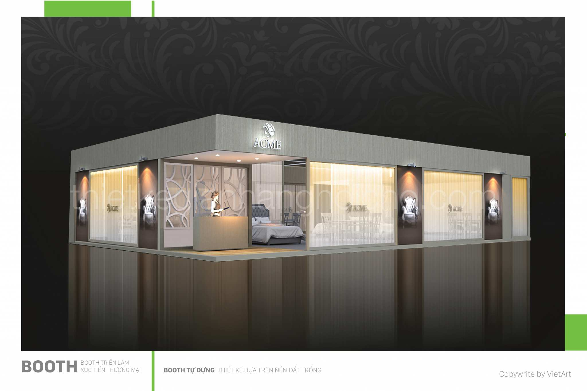 Bạn đang tìm nhà thầu thi công gian hàng triển lãm?