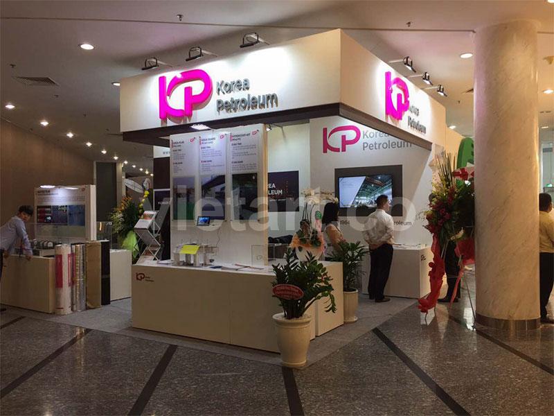 Gian Hàng triễn Lãm KP – Korea Petroleum