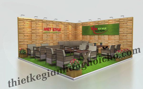 Viet Style – Gian hàng trưng bày nội thất tại triển lãm Vifa 2019