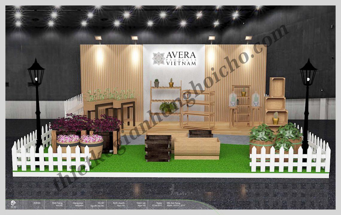 Gian hàng triển lãm Avera – Triển lãm Life Style Vietnam 2019