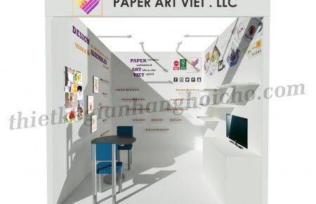 Booth Paper Art Viet – Gian hàng tiêu chuẩn tại triển lãm LifeStyle 2019