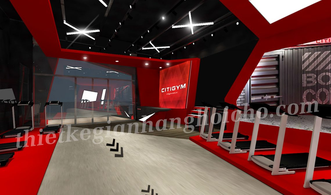 Citigym Bến Vân Đồn – Booth Pre-sales Citigym tại Saigon Royal