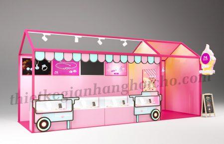 Booth PNJ – Gian hàng triển lãm trang sức