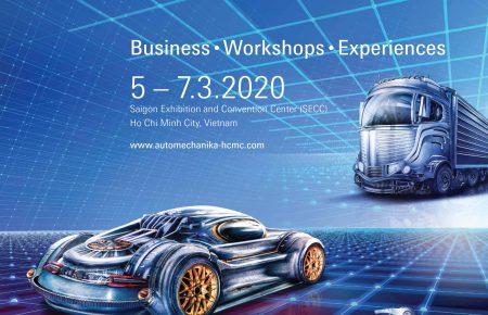 AUTOMECHANIKA HO CHI MINH 2020 – TRIỂN LÃM QUỐC TẾ CÔNG NGHIỆP DỊCH VỤ Ô TÔ 2020