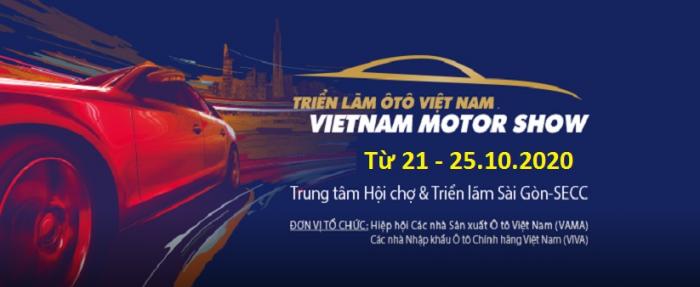 Triển lãm Ô tô Việt Nam – Vietnam Motor Show – VMS 2020