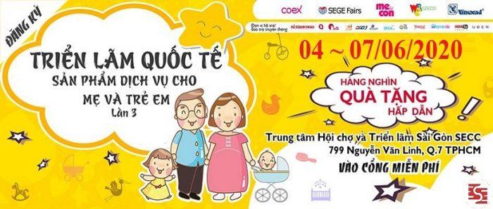 Vietbaby Fair 2020 – Triển lãm sản phẩm dịch vụ mẹ và trẻ em