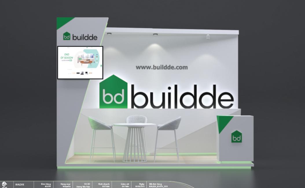 BOOTH TRIỂN LÃM BUILDDE