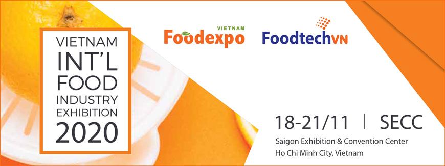 Triển lãm Quốc tế Công nghiệp Thực phẩm Việt Nam 2020.