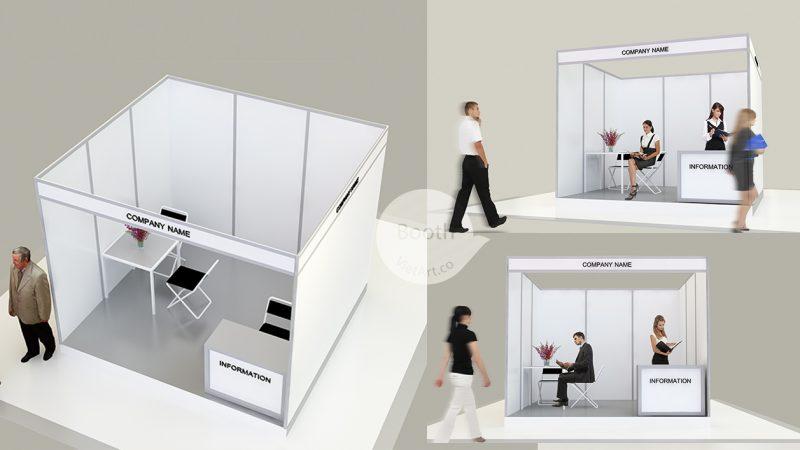 booth tiêu chuẩn
